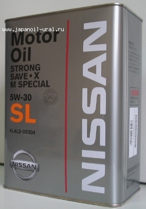 NISSAN STRONG SAVE-X SL 5W-30 4L