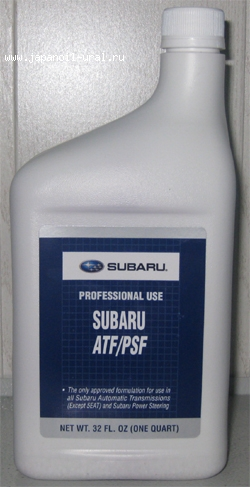 SUBARU 3EAT 4EAT ATF