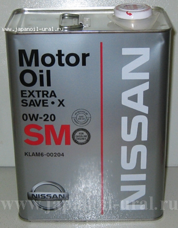 Nissan STRONG SAVE X SM 0W20 4L