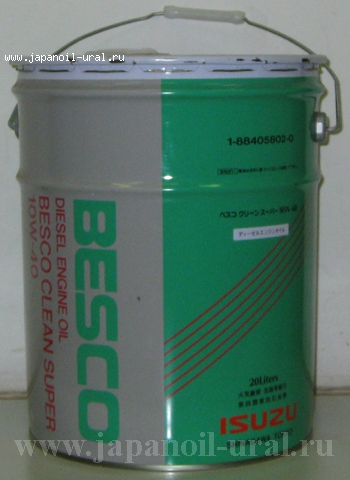 BESCO CLEAN SUPER 10W-40 DH-2 20L