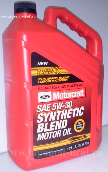 FORD Synthetic Blend Motor Oil SN/GF-5 5W-30